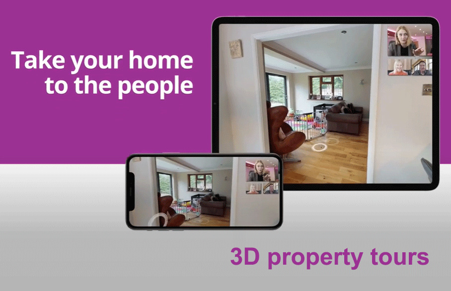 3D property tours for your home