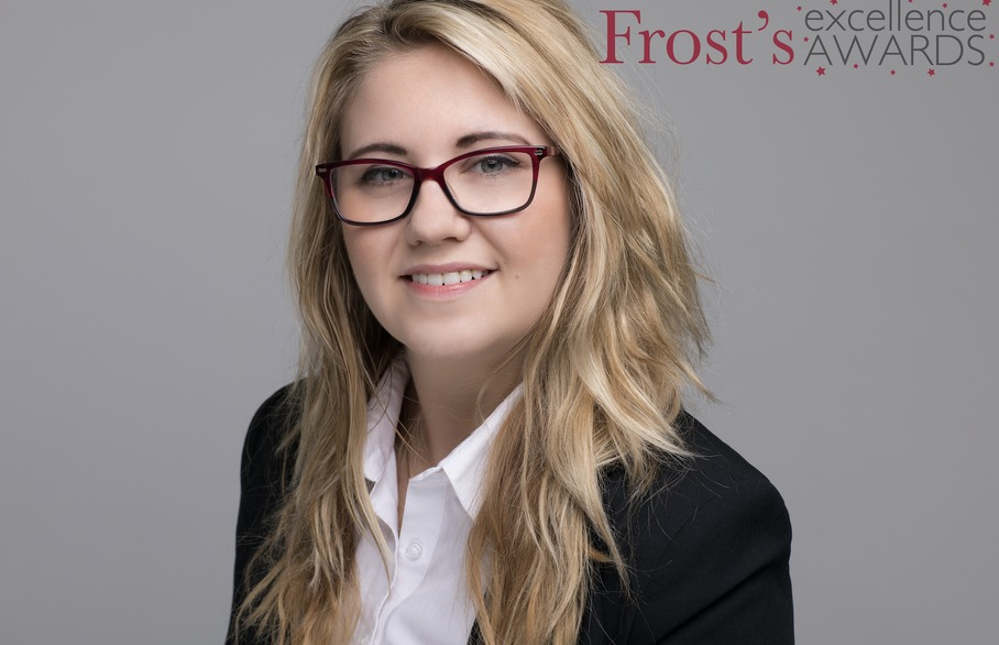 Frost's Excellence award presented to Ava Melton-Brown