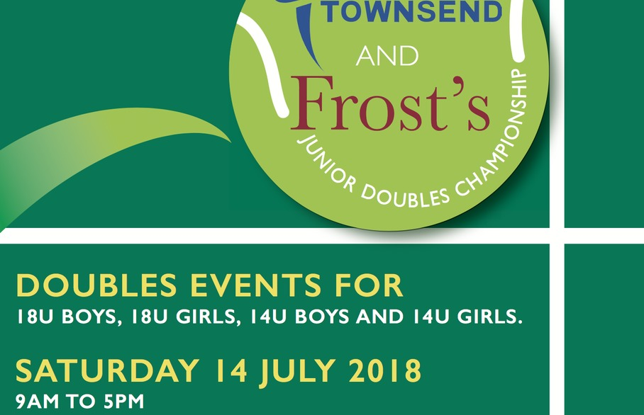 Join in the Townsend and Frosts' Tennis Championships this 14 July 2018