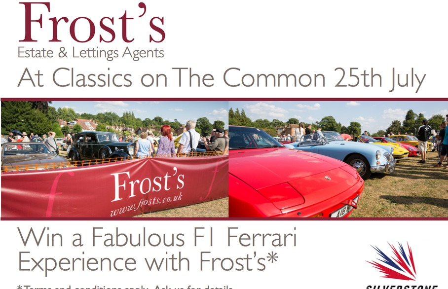 25 years of Classic on the Common and your chance to win an F1 Ferrari Experience