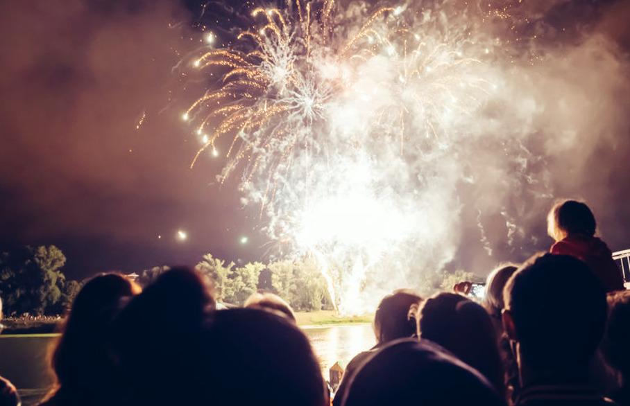 Crabtree firework spectacular