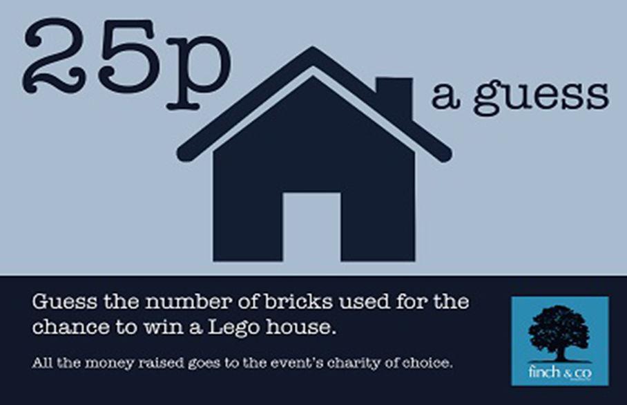 Pelham Primary School Fair - Guess the number of lego bricks