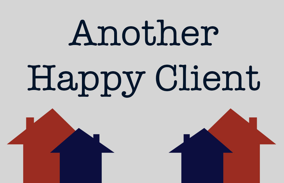 Another happy Finch & Co. client