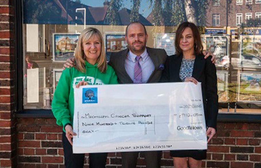 Cheam Village raised £912 for Macmillan Charity!