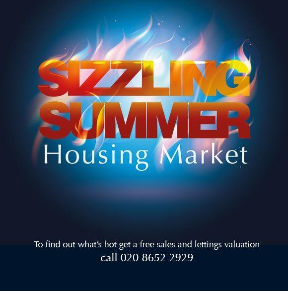 Sizzling summer housing market