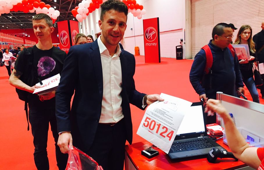 Stefan Rojas - running the 37th London Marathaon