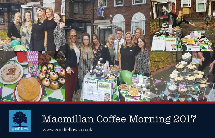 Cheam Village annual Macmillan coffee morning