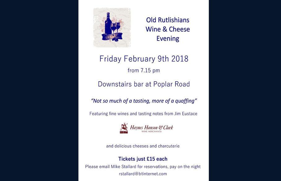Old Rutlishians  Wine & Cheese Evening