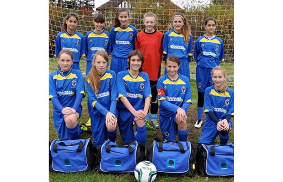 Goodfellows Sponsors the AFC Wimbledon U13 Girls Team