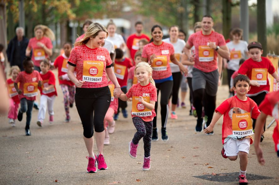 Sport Relief 18-20 March 2016