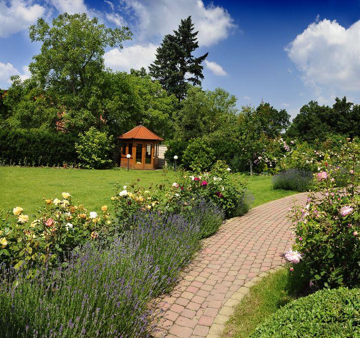 Find sanctuary in a garden retreat?