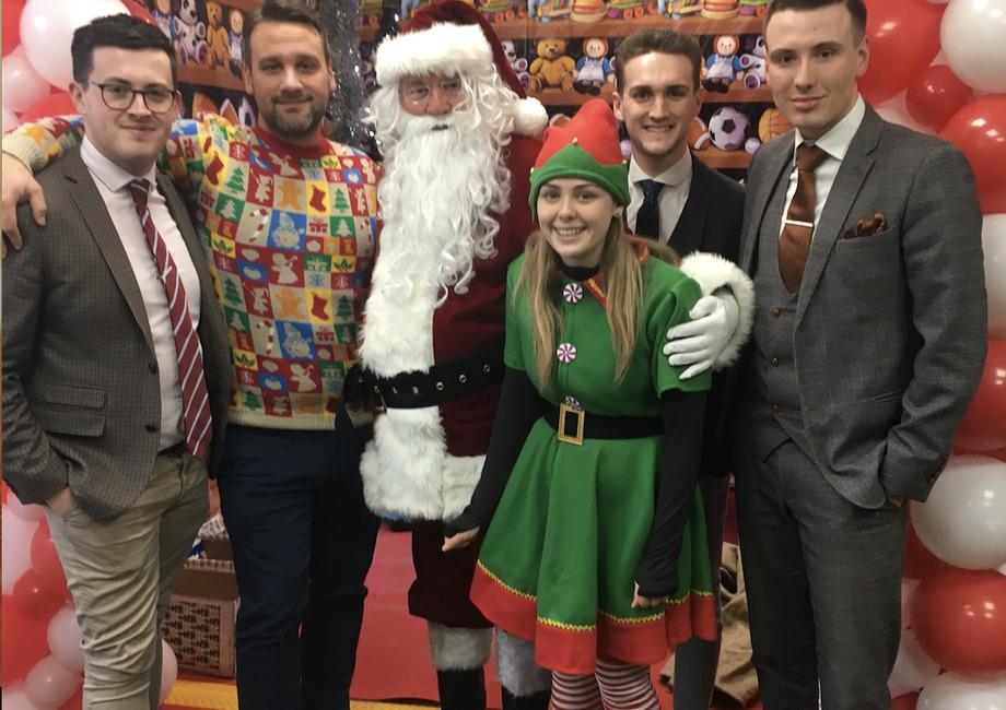 Intercounty Bishop's Stortford Santas Grotto raises money for charity
