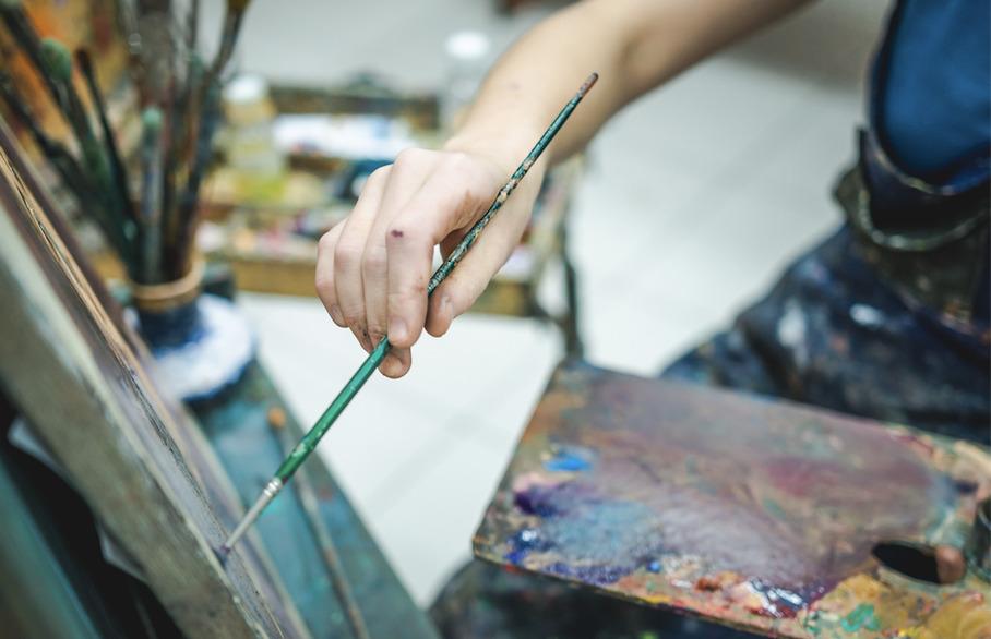 Paint like Cezanne near Chigwell