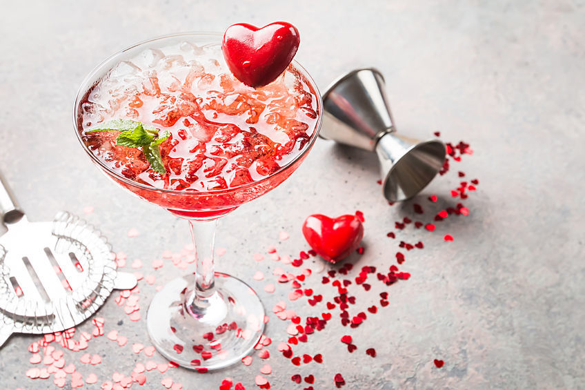 Gin based cocktail for your Valentine?