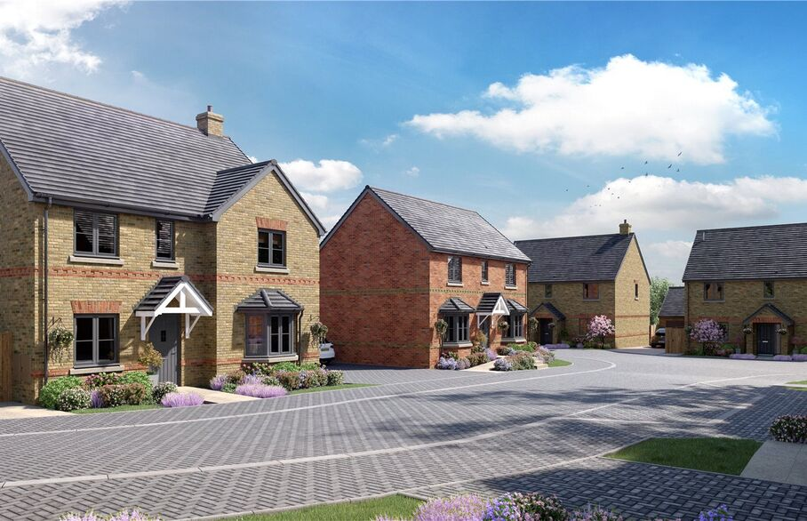Foundry Place Potton open day on 20  and 21 March